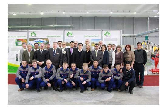 """首家中资企业入驻俄罗斯""""东方工业""""产业园"""