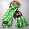 新疆披肩丝巾 原创设计 丝路拾香 手工绘制民族时尚文化礼