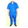 夏季短袖工作服、煤矿工作服、淡蓝色工作服