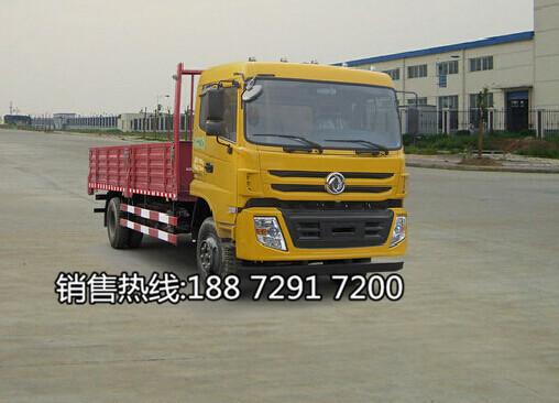 东风平头LNG液化天然气6.8米平板车价格EQ1168GFN