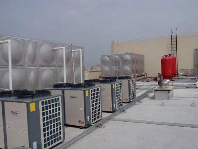 学校部队酒店空气能热水器系统找江苏欧贝